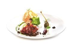Nowożytna Cząsteczkowa kuchnia Obraz Royalty Free
