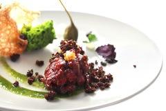 Nowożytna Cząsteczkowa kuchnia Fotografia Royalty Free