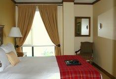 Nowożytna dekorująca sypialnia Fotografia Royalty Free