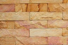 nowożytna deseniowa kamienna ściana Zdjęcie Royalty Free
