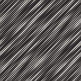 Nowożytna Elegancka Halftone tekstura Niekończący się Abstrakcjonistyczny tło Z Przypadkowymi okręgami Wektorowy Bezszwowy mozaik Fotografia Royalty Free