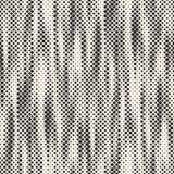 Nowożytna Elegancka Halftone tekstura Niekończący się Abstrakcjonistyczny tło Z Przypadkowymi Wielkościowymi kwadratami Wektorowy ilustracja wektor