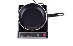 Nowożytna elektryczna kuchenki powierzchnia Obraz Stock