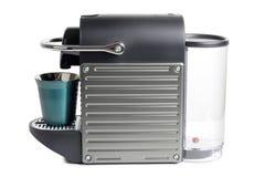 Nowożytna kawowa maszyna obrazy stock
