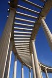 Nowożytna kolumnada centrum handlowe w Sv Kriz Zacretje, Chorwacja zdjęcie royalty free