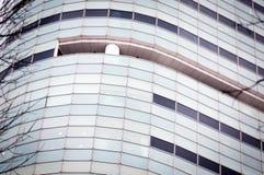 Nowożytna korporacyjna basztowa fasada Zdjęcia Royalty Free