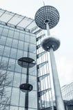 Nowożytna latarnia uliczna w Londyn zdjęcia stock