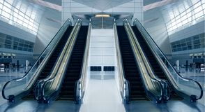 nowożytna lotniskowa architektura obrazy royalty free