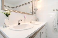 Nowożytna luksusowa łazienka obraz royalty free