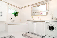 Nowożytna luksusowa łazienka obrazy stock