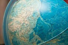 Nowożytna mapa świat, kula ziemska Obrazy Stock