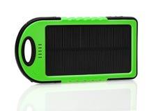 Nowożytna mobilna ogniwa słonecznego telefonu ładowarka zdjęcie stock