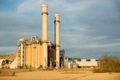Elektryczna elektrownia zdjęcie stock