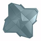 Nowożytna osłony ikona na białym tle Obraz Stock