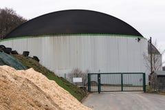 Nowożytna produkci roślina dla biogas Obraz Royalty Free