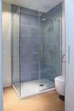 Nowożytna prysznic zdjęcia royalty free