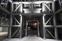 Nowożytna przemysłowa metali pilonów struktura Obrazy Royalty Free
