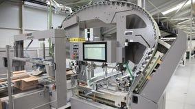 Nowożytna przemysłowa pakuje maszyna zbiory