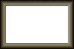 Nowożytna rama obraz stock
