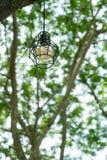 Nowożytna stylowa żarówki lampa Obraz Stock