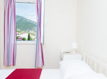 Nowożytna sypialnia zdjęcia royalty free