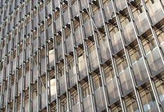 Nowożytna szklana ściana Fotografia Stock