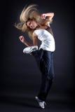 nowożytna tancerz kobieta zdjęcie stock
