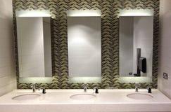 nowożytna toaleta zdjęcia stock