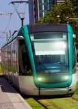 Nowożytna tramwajowa ekologia obrazy stock