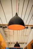 Nowożytna wisząca lampa Obrazy Royalty Free