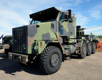 Nowożytna wojsko ciężarówka obrazy stock