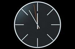 Nowożytna zegarek twarz Zdjęcie Stock