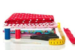 nowożytne bawełniane tkaniny Fotografia Royalty Free