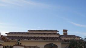 nowożytne dachowe płytki Zdjęcia Royalty Free