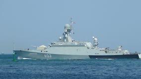 Nowożytne pocisk łodzie Rosja zdjęcie wideo