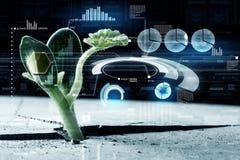 Nowożytne technologie dla nowego życia obrazy stock