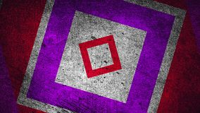 Nowożytnego grunge abstrakcjonistyczny tło z prostokątami, drapająca powierzchnia, 3d odpłaca się komputer wytwarzającego tło ilustracji