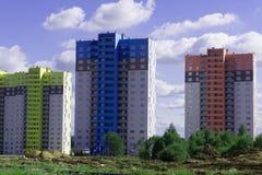 Nowożytnego i Eleganckiego mieszkania własnościowego Wysoki wzrost fotografia royalty free