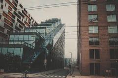 Nowożytnego miasta Miastowy pejzaż miejski Zdjęcie Stock