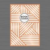 Nowożytnego projekta Książkowa pokrywa, Plakata Ulotka, Firma profil, sprawozdanie roczne projekta układu szablon w A4 rozmiarze Zdjęcie Stock