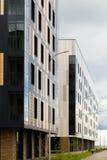 Nowożytnego projekta miasta budynek mieszkaniowy w mieście Zdjęcie Royalty Free