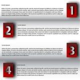 Nowożytnego projekta szablon/może używać dla infographics Obrazy Royalty Free