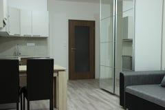 Nowożytnego projekta wnętrze mały mieszkanie Zdjęcie Royalty Free