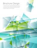 Nowożytnej biznesowej broszurki okładkowy szablon Zdjęcie Royalty Free