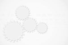Nowożytni abstrakcjonistyczni technologii tła przekładni koła elementy ilustracji