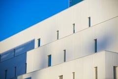 Nowożytni budynki biurowi. Kolorowi budynki w przemysłowym miejscu. zdjęcia stock