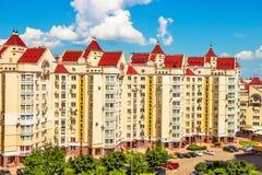 Nowożytni budynki Kijów obraz royalty free