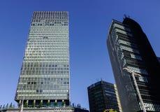 Nowożytni budynki w Nagoya, Japonia zdjęcia royalty free