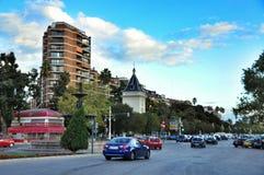 Nowożytni budynki w Walencja, Hiszpania obrazy stock
