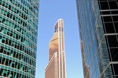 Nowożytni drapacze chmur, wieżowowie Zdjęcia Stock